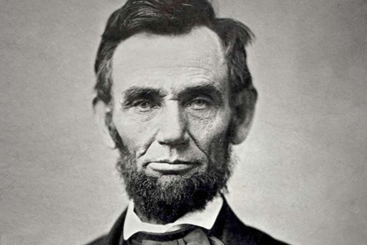 صورة شخصية للرئيس الأمريكي المؤسس أبراهام لنكولن