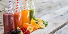 الفرق بين العصير والنكتار والشراب