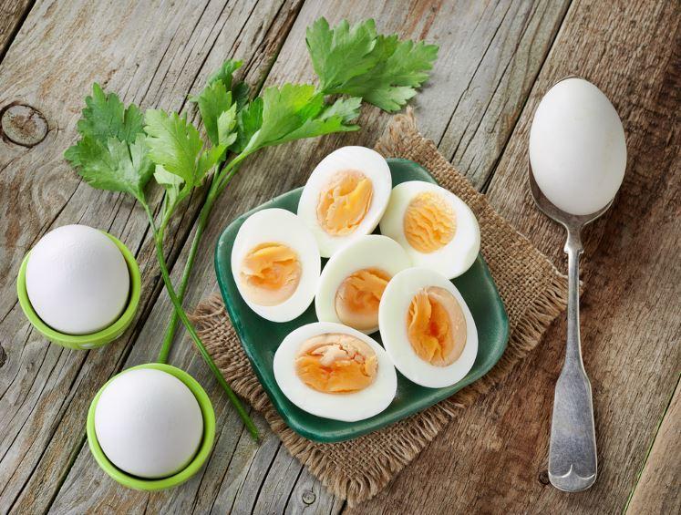 خسارة الوزن بسرعة من خلال حمية البيض المسلوق