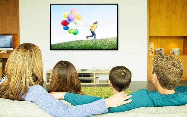تشغيل التلفاز بدون ريموت