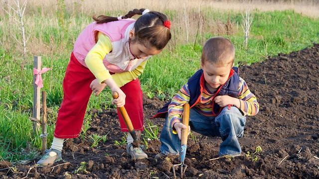 تأثير الطبيعة على الأطفال