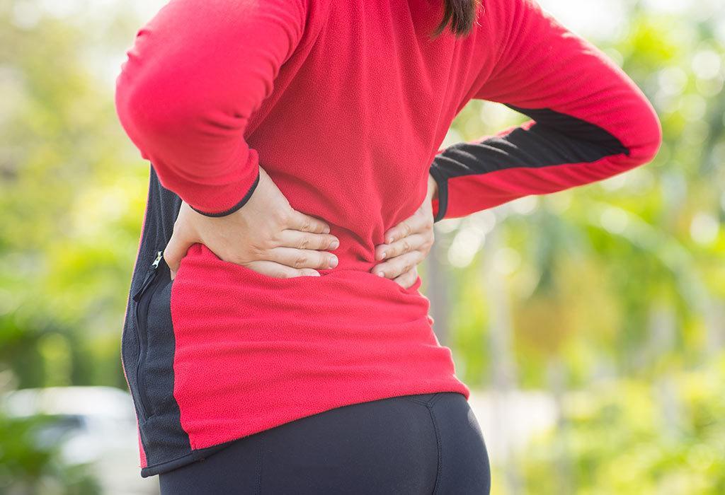هل ألم الظهر من أعراض الحمل