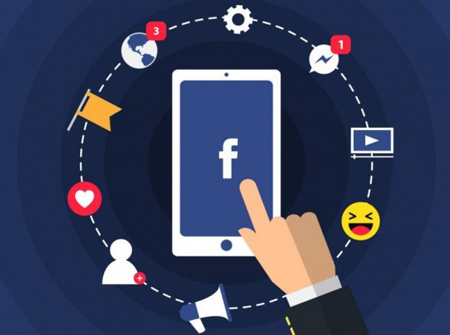 دخول صفحة الفيسبوك