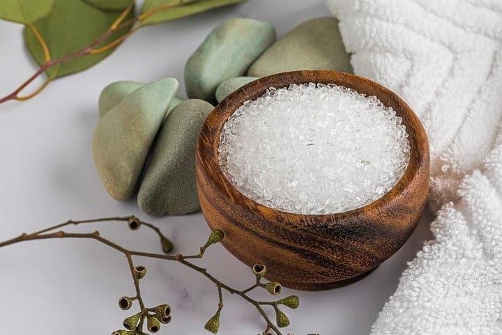 الملح لعلاج التهابات المهبل