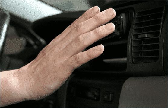 توقف مكيف السيارة عن العمل