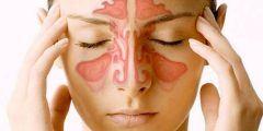 أعراض الجيوب الأنفية علي الأذن