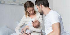 أوضاع الرضاعة الطبيعية لحديثي الولادة