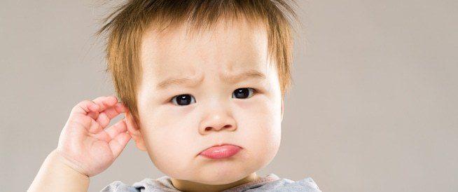 علاج وجع الأذن عند الأطفال