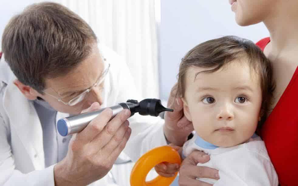 مضاد حيوي لالتهاب الأذن للأطفال