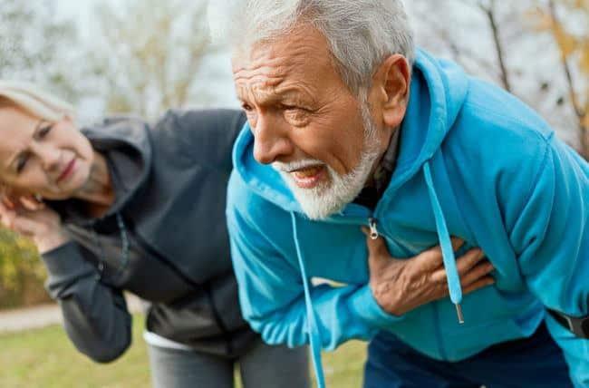 أعراض جلطة القلب