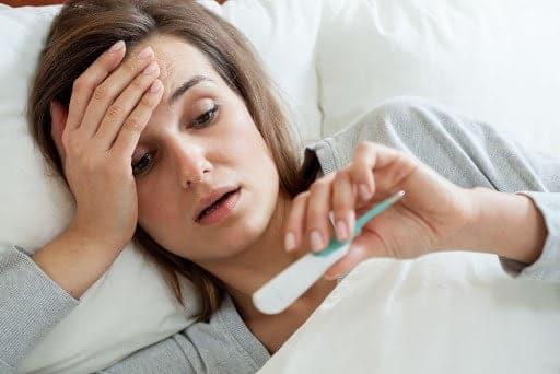 أعراض حمي التيفود عند الكبار