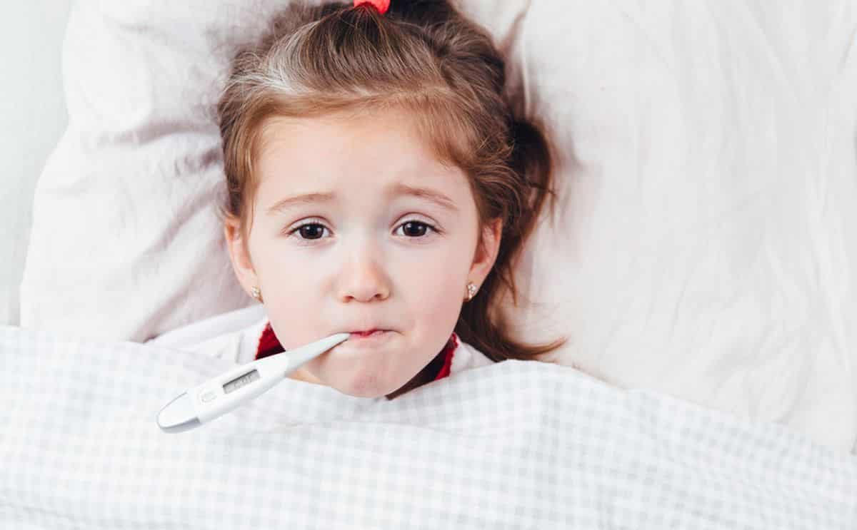 مدة الحمي الفيروسية عند الأطفال