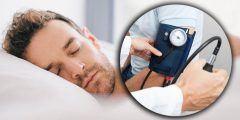 طريقة نوم مريض الضغط المرتفع