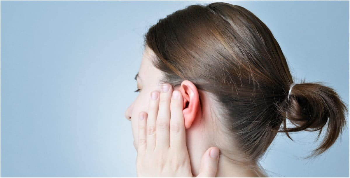 سخونة الأذن من الداخل