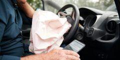 ماذا يحدث للجسم في حادث السيارة