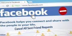معرفة طلبات الصداقة المرفوضة في فيسبوك