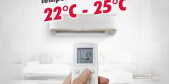 أفضل درجة حرارة للمكيف لتوفير الكهرباء